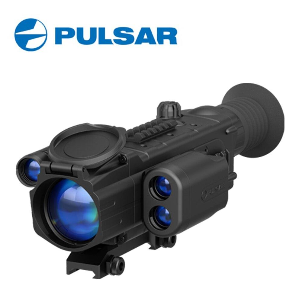 Пульсар Digisight N870 лазерный дальномер цифровой Ночное видение прицел Охота область #76332 DHL или EMS Бесплатная доставка