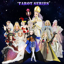 MMGirl Tarot Doll 30CM Princess BJD Dolls New Arrival SD Dolls With Outfit Elegant Dress Shoes Hat Makeup(China)