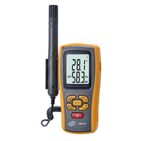 BENETECH Digital LCD display thermo hygrometer GM1361 2.5 Inch Separate temperature and humidity meter