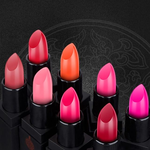 Hot MEIKING Moisture Matte Color Waterproof Lipstick Beauty Makeup Long Lasting Moisturizing Water Does Not Fade Lip Gloss Lips