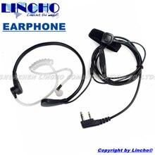 neck throat control mic earphone for Baofeng, TYT, QUANSHENG, Puxing two way radio walkie talkie