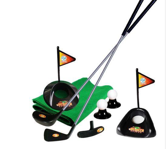 Deportes de interior niño conjunto varilla pelota de golf bola del bebé fuera del deporte entre padres e hijos juguetes juguetes para Niños brinquedos infantis