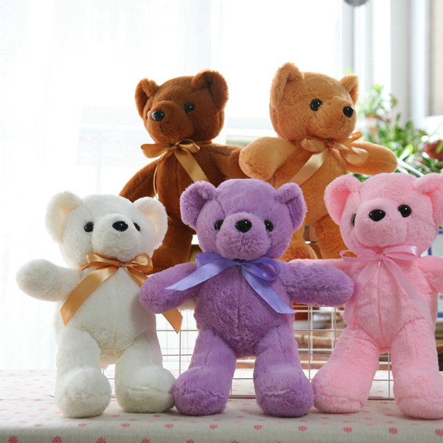 35 CM Kawaii Urso de Pelúcia Bonecas do Urso de Brinquedo de Pelúcia Bicho de pelúcia Macia para Crianças Bebê Crianças Presente de Aniversário Dos Namorados presente