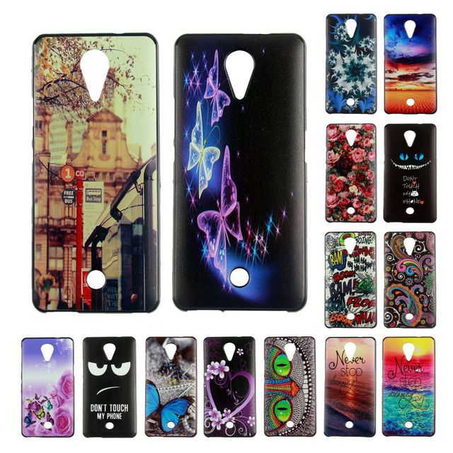 Coque for Wiko Tommy Case Fashion Beautiful Soft Silicone Print Phone case For Wiko Tommy Case Cover with Butterfly Sea Rose
