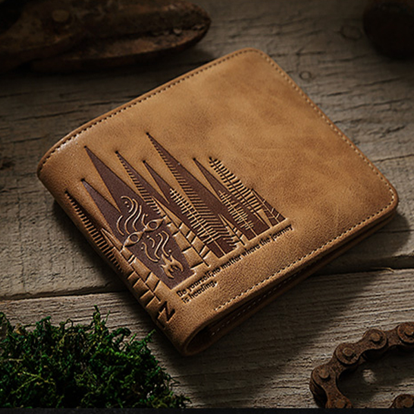 High Quality Genuine Leather Fashion Men Wallet Cow Leather Short Vintage Male Mini Wallet Leisure Credit Card Holder Purse J40 bvp business dress wallet long type men high end daily pack money credit card organizer 100% genuine cowhide leather j40