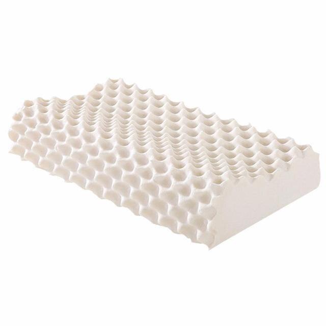 Натуральный волчий Клык форме гранул латекс шеи Массаж здравоохранения подушка импортированы из Таиланда защиты шеи и отдыха