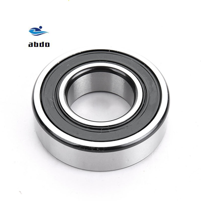 5PCS High quality ABEC-5 6200 2RS <font><b>6200RS</b></font> 6200-2RS 6200 RS 10x30X9 mm Miniature double Rubber seal Deep Groove Ball Bearing EMQ image