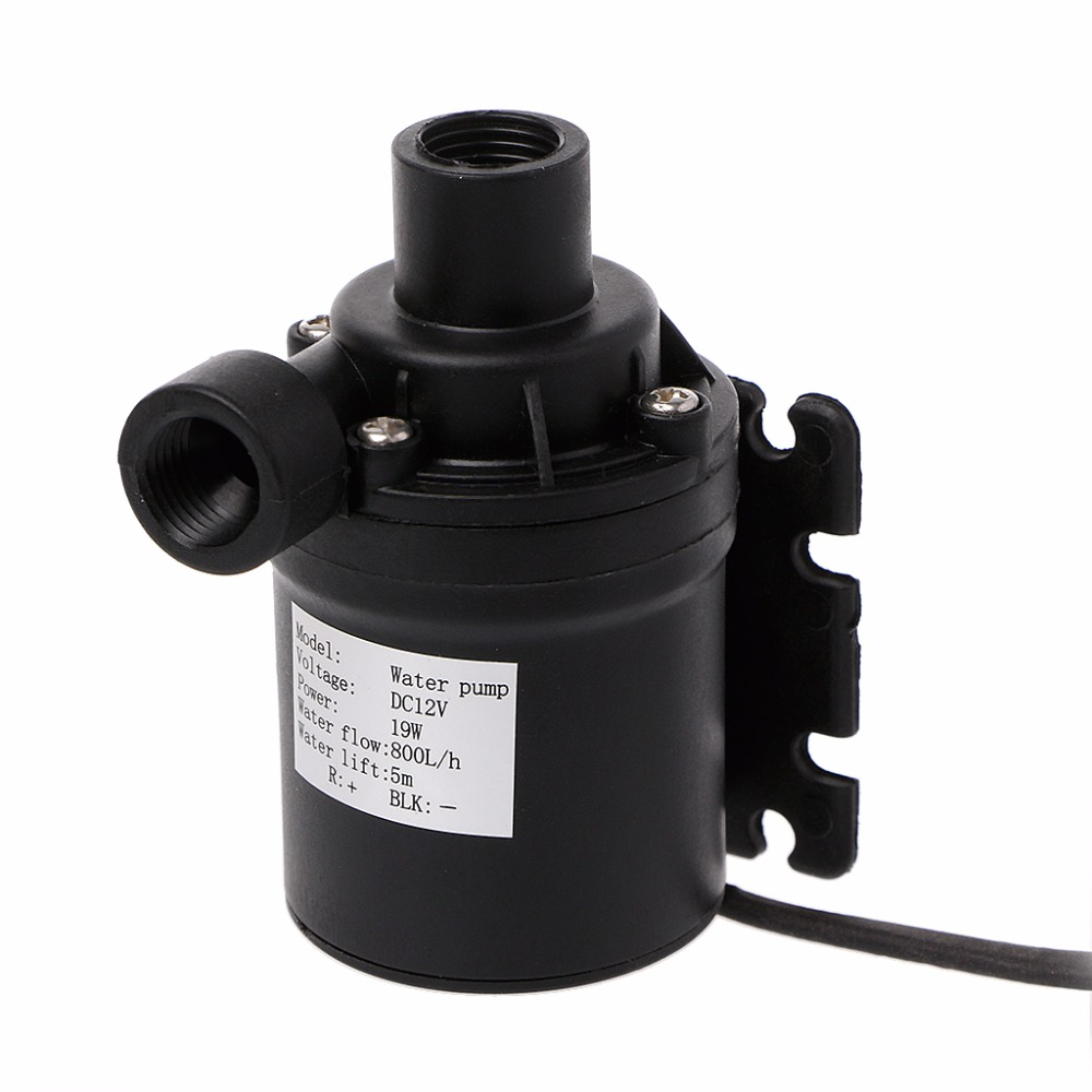 800L/H 5m DC 12V Water Solar Pump Brushless Motor Circulation Water Pump With 4p Plug Pumps