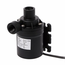 цена на 800L/H 5m DC 12V Water Solar Pump Brushless Motor Circulation Water Pump With 4p Plug Pumps