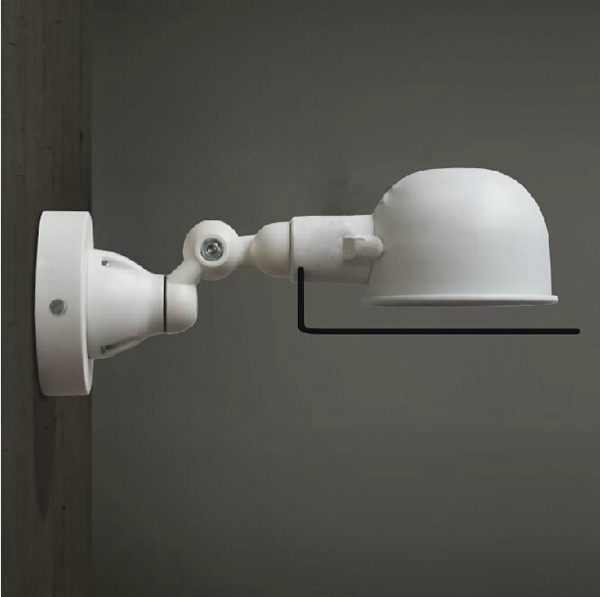 RH loft Vintage Retro wall lamp articulating arm france Jielde wall lamp retractable double ...