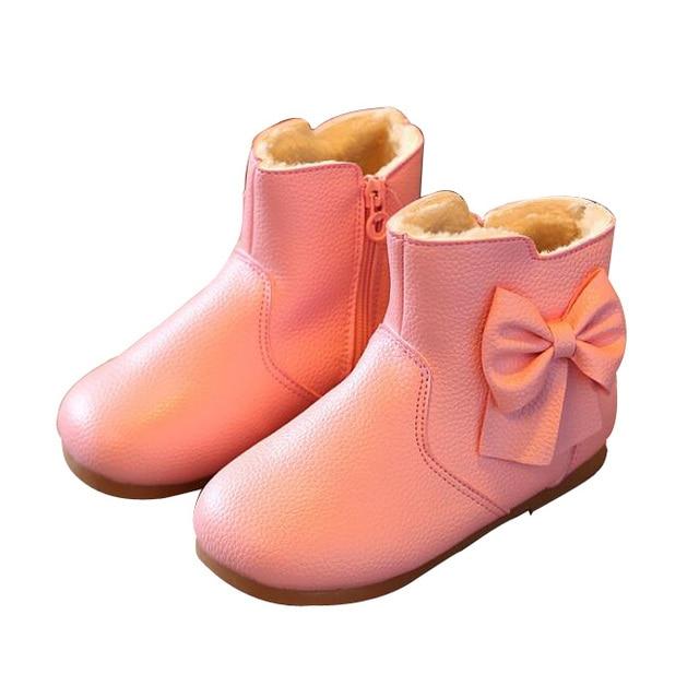 info for 2222c 3dda2 US $8.5 |Größe 21 30 Kinder Schneeschuhe Baby Mädchen Schuhe Winter Warme  dicke Kinder Stiefel Für Mädchen Ankle Martin Stiefel Mädchen Prinzessin ...