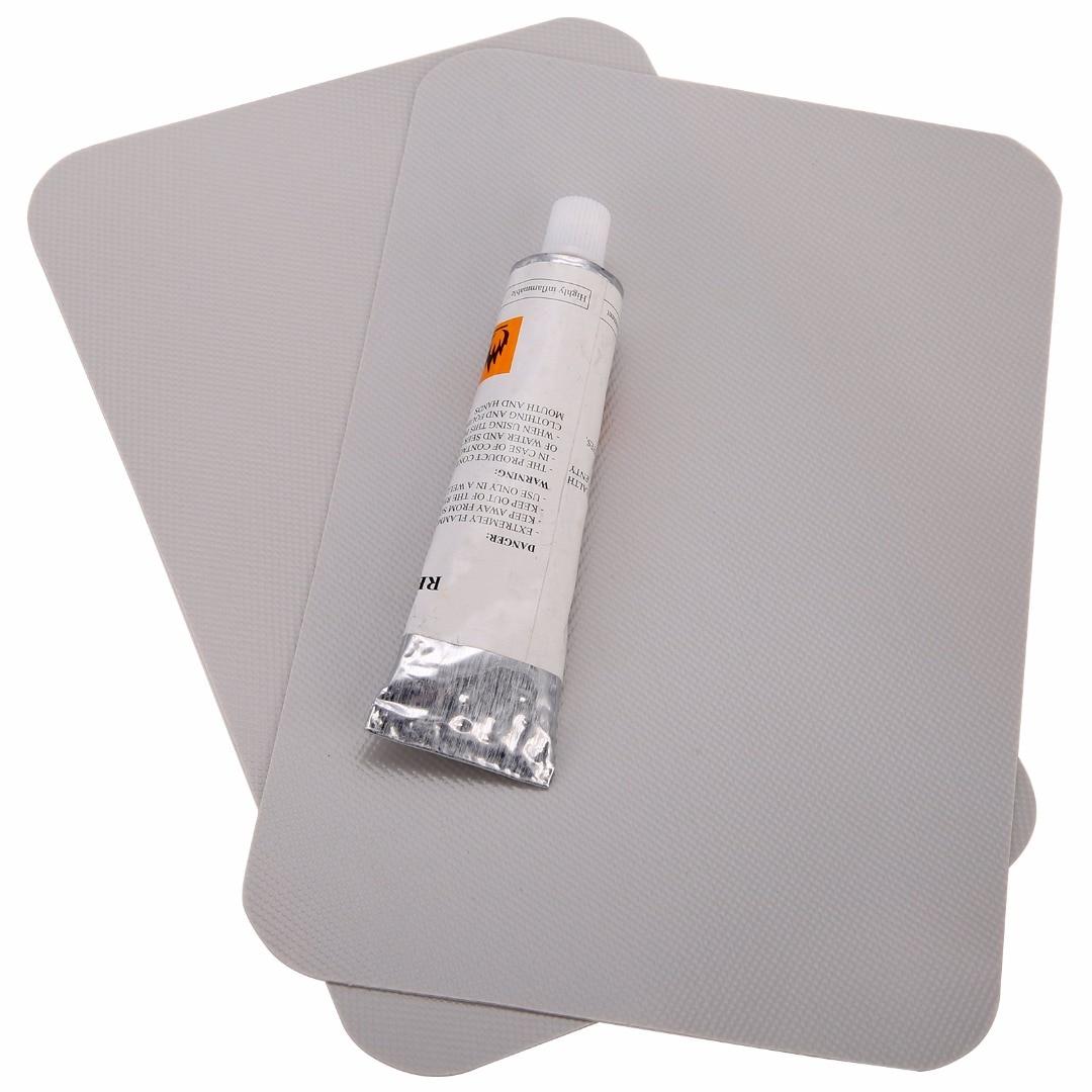 UK WATERPROOF PVC REPAIR PATCH GLUE TOOL KIT FOR INFLATABLE CANOE KAYAK BOAT