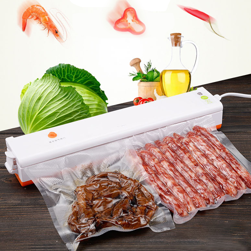 ICOCO 220V/110V Household Food Vacuum Sealer Packaging Machine Film Sealer Vacuum Packer Including Bags