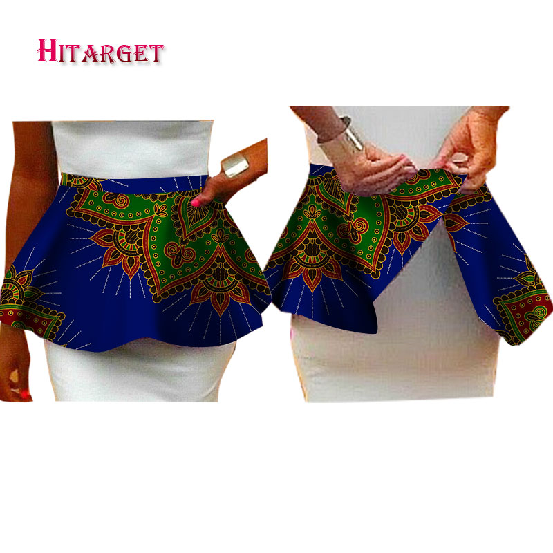 Fashion African Accessories For Women Bazin Riche 2019 New Handmade Waist Accessories Dashiki Ankara African Clothes WY1567
