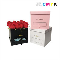 Flowers Gift Box Square Drawer Flower Box Chocolate Candy Box Buy 2set Have 10 Discount
