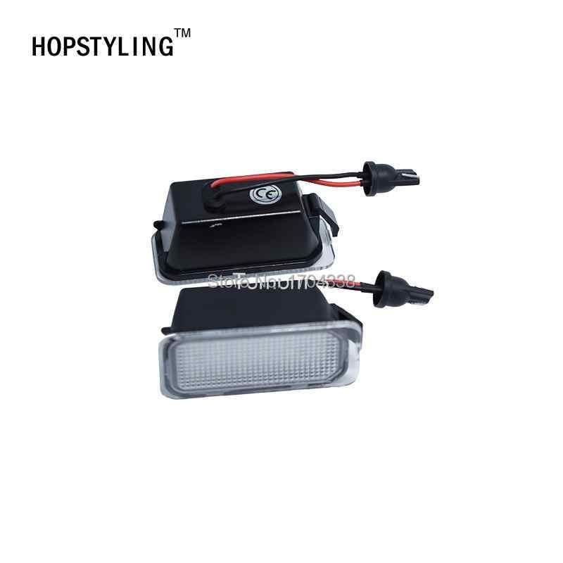 Hopstyling 2pcs / lot LED Številka registrske tablice Svetilka za - Avtomobilske luči - Fotografija 4
