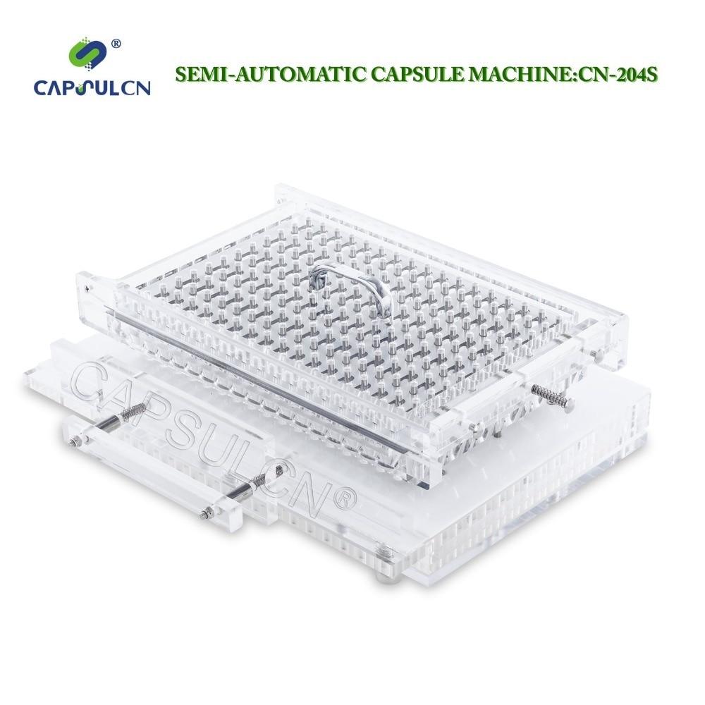 CapsulCN204 S Semi Automatic Size 4 Capsule Machine Capsule Filler Capsule Filling Machine