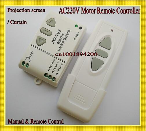 Aliexpress.com : Buy 220V AC Motor Remote Controller Curtain ...