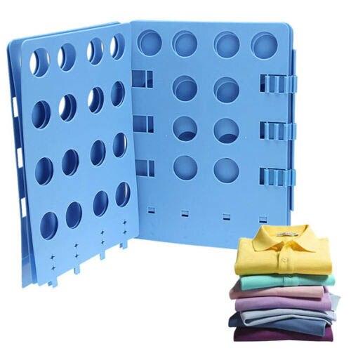 Children Clothes T Shirt Top Folder Magic Flip Folding Board Children Laundry Organizer Lazy Supplies Random Color  1