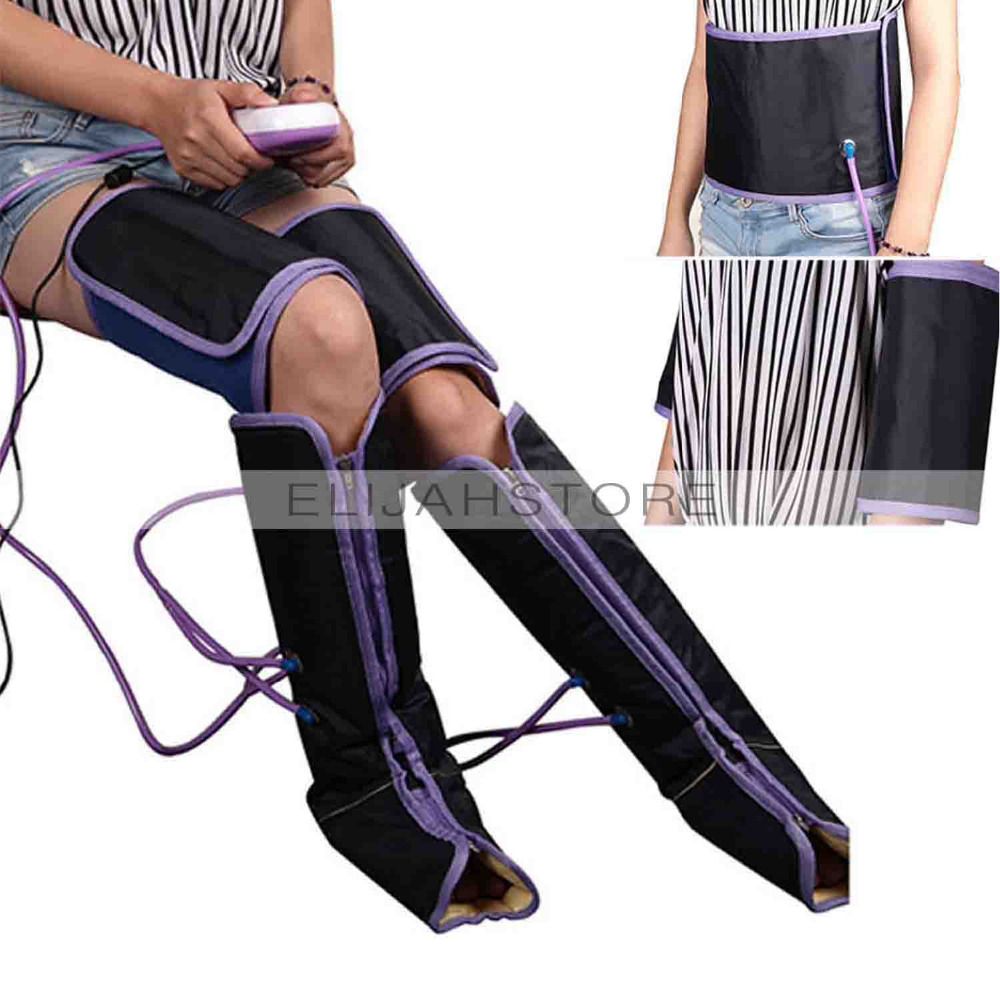 New Ankle Therapy Massage Slimming Legs Foot Massager Air Compression Leg Wraps Boot Socks