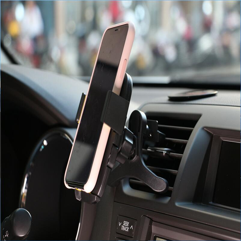 Universal Car <font><b>Phone</b></font> Clip <font><b>Holder</b></font> Mobile <font><b>Phone</b></font> Bracket With In Car Mount Support Smartphone For <font><b>Audi</b></font> A4 B5 B6 B8 A6 C5 A3 A5 <font><b>Q5</b></font> Q7 image