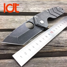 LDT Medford Starship Tactical Folding Blade Knives 8Cr13Mov Blade Steel Handle Camping Hunting Knife Survival Outdoor OEM Tools