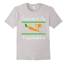 """Powered By Vegetables"" Men's T-Shirt"