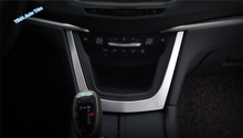 accessories For Cadillac XT5 2016 2017 ABS Central Control Frame Cover Trim Console 1 Pcs