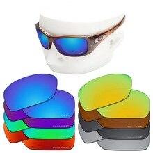 OOWLIT Lentes de repuesto antiarañazos para gafas de sol polarizadas con grabado de Oakley Hijinx