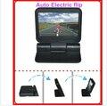 """5 """" 800 * 480 carro TFT LCD tela do Monitor 2ch vídeo Monitor com controle remoto elétrico dobrável para TV câmera de segurança retrovisor"""