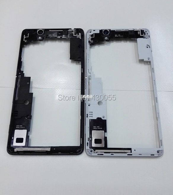 Black/White Ymitn New Housing middle frame cover case For Sony Xperia C4 S55T E5333 (Dual SIM)