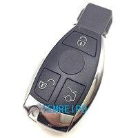 Mercedes Benz oto Anahtar Kapakları Araba Uzaktan Anahtar Boş Kesilmemiş Bıçak içinde Hiçbir Çip Ile Transponder Anahtar Kabuk