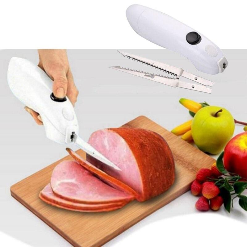 Elektrische/Automatische Steak Messer 2018 Top Bewertet Edelstahl Elektrische Fleisch Messer Einfach Cut Cordless Messer Für Schweinefleisch TQ
