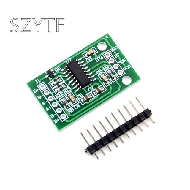 5 шт. двухканальный HX711 весом Давление Сенсор 24-бит точность A/D Модуль