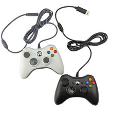 Wired USB Black Gamepad Joystick Joypad Game Controller for PC Laptop for Raspberry Pi 2/3 zero W(China)