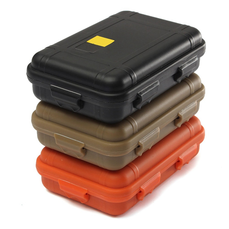 10 PCS EDC Gear Tactical Outdoor Anti-pressure Shockproof Waterproof Airtight Survival Storage Box Container Carry Box Wholesale