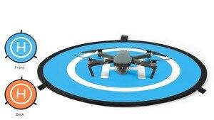 Image 2 - PGYTECH DJI Spark Protective Fast fold Drone Landing Pad For Mavic Pro Phantom 2 3 4 inspire 75cm Station Apron Portable Pour
