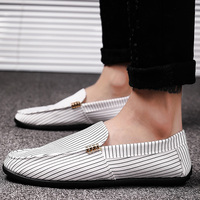 Dad Driving shoes men casual sneakers slip on loafers plus size 45/46 comfortable male sneakers zapatillas blancas hombre