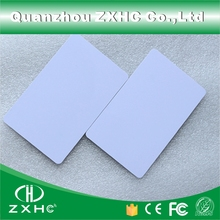 (10 ピース/ロット) FM1108 (互換 S50) 防水 PVC スマート白カード RFID タグ 13.56 Mhz のアクセス制御のための