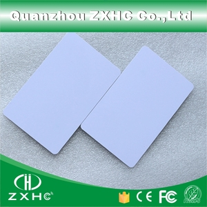 Image 1 - (10 pçs/lote) fm1108 (compatível s50), placa branca inteligente rfid à prova d água, 13.56 mhz para controle de acesso