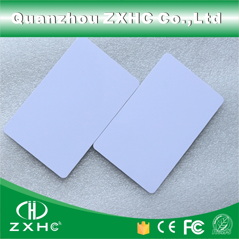 (10pcs/lot) Fm1108(compatible S50) Waterproof Pvc Smart White Card Rfid Tags 13.56 Mhz For Access Control