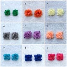 Colorful Baby Flower Foot Ring Shoes Infant Girls First Walkers Foot Wear Newborn Photography Foot Accessories  100Pairs