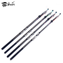 Top Class Carbon Rock Fishing Rod Telescopic Ultralight Fishing Pole Stick River Lake Fishing Rod Gear 2.7/3.6/4.5/5.4M
