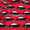 140X100cm Black Retro Car Cotton Sateen Fabric For Baby Boy Clothes Sleepwear Sewing DIY AFCK752