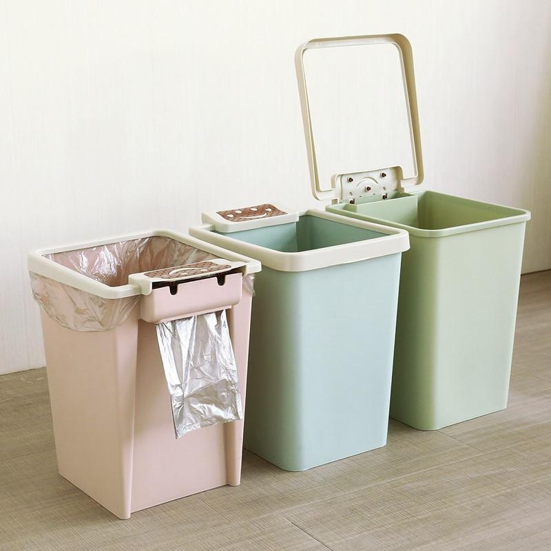 Trash Can Bin Lid Recycling Storange Kitchen Kids Room Garbage Basket Bear New