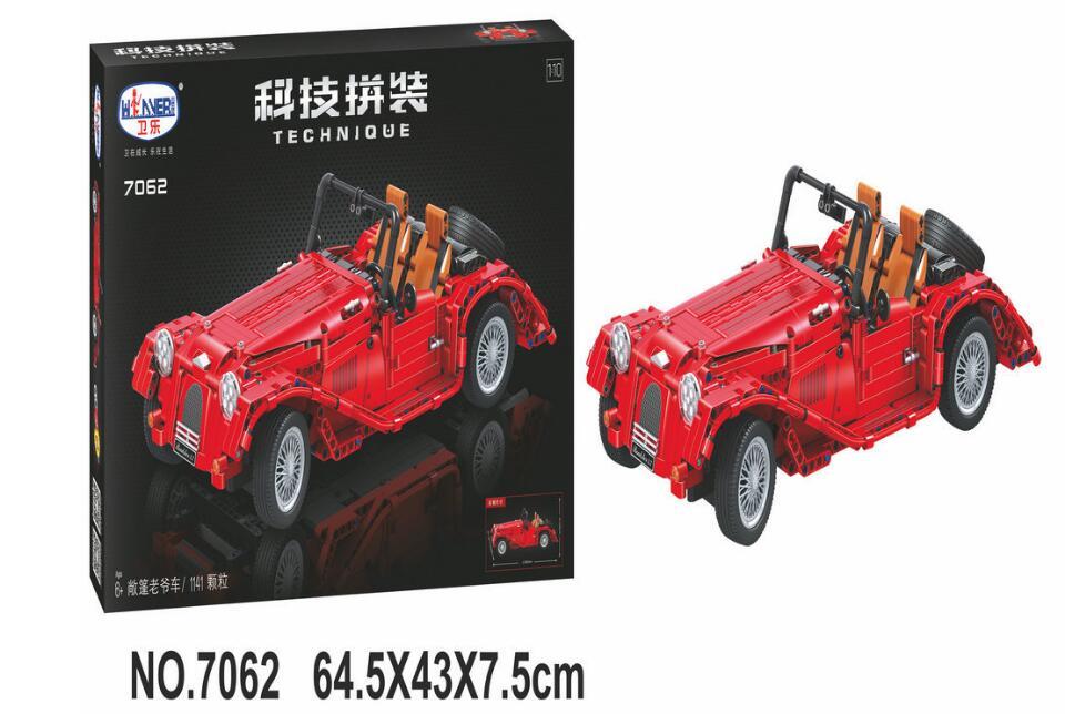 ФОТО 7062 Lepin Technic convertible car building bricks blocks toys for children Boy Game Bela