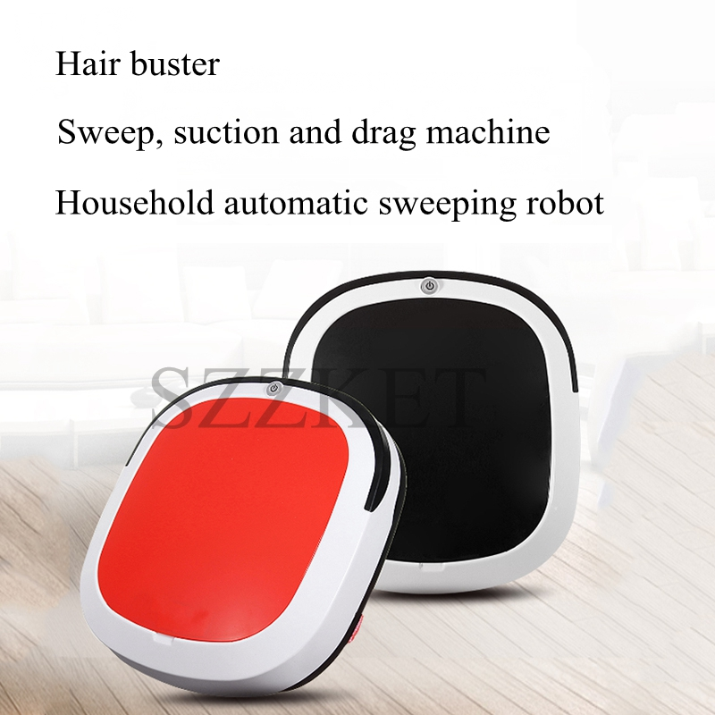 1PC Sweeping robot Intelligent robot vacuum cleaner Dry and wet Silent Low decibel English version Automatic Clean robot1PC Sweeping robot Intelligent robot vacuum cleaner Dry and wet Silent Low decibel English version Automatic Clean robot