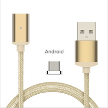 Micro USB Cable Magnetic Cable With Magnetic Tip Transfer Data Cable Fast Charging For Android Type-C For iphone 5 5S 6 7 P0.06