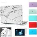 Мраморный Матовый Чехол Для Macbook Air Pro Retina 11 12 13 15 дюймов Сумка Для Ноутбука Для macbook Air 13 случае крышка