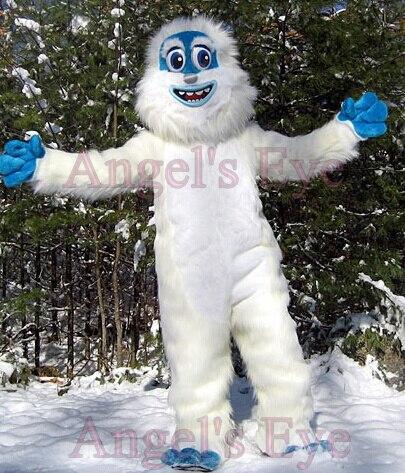 Cartone animato tema yeti abominable snowman costume della